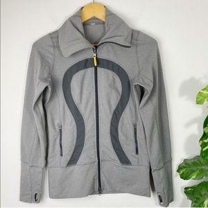 Lululemon In Stride Jacket Grey Size 4